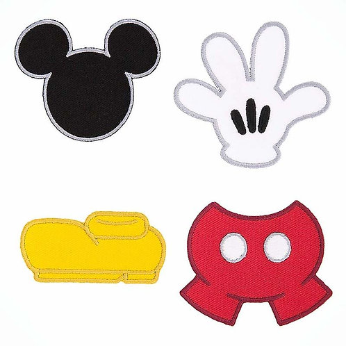 Disney Parks Mickey Mouse Patch Collection