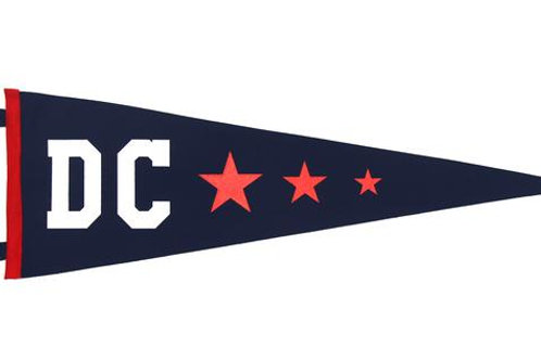 Washington D.C. Pennant - Designed by Nate Duval