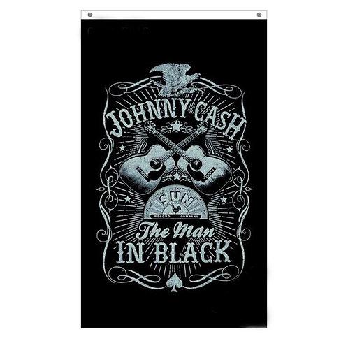 Johnny Cash Tailgating Flag