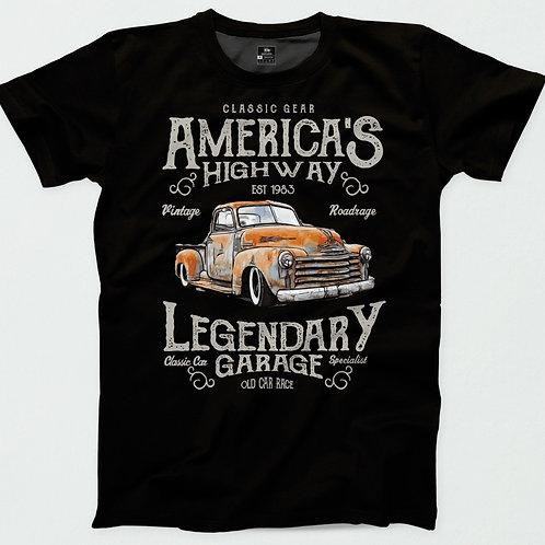 America's Highway Chevy T-Shirt