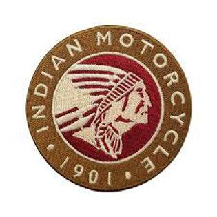 Indian Motorcycle 1901 Iron on Badge