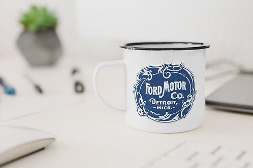Ford Motor Company Enamel Mug