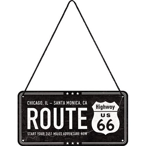 Route 66 Hanging Sign