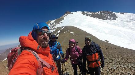 HIKE CHILE - Expedicion Cerro El Plomo.J
