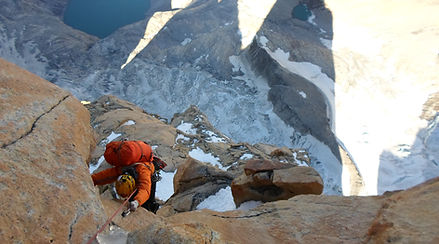 rock climbing expedition