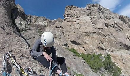 private big wall rock climbing torrecillas cajon del maipo santiago chile