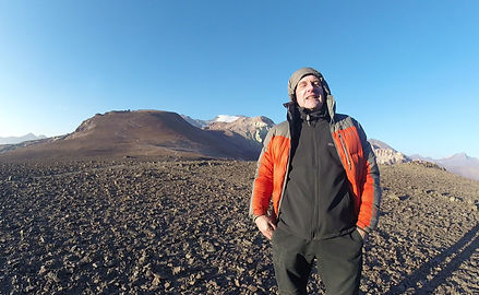 daniel toke a private expedition to cerro pintor andes mountain tour