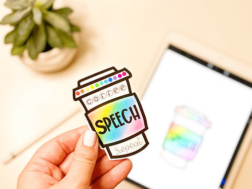 'Coffee Cup' Sticker
