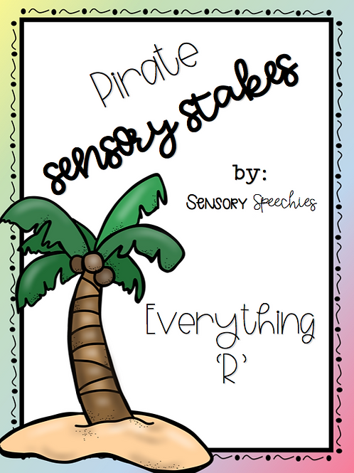 Sensory Stakes~Everything 'R' ~Digital Download