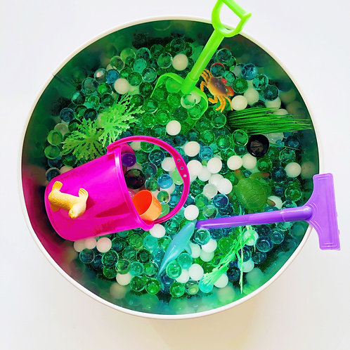 Under the Sea Sensory Tin
