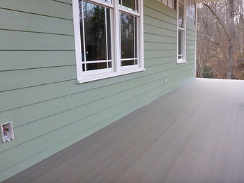 Lap Siding installed over Roll-On Rainscreen