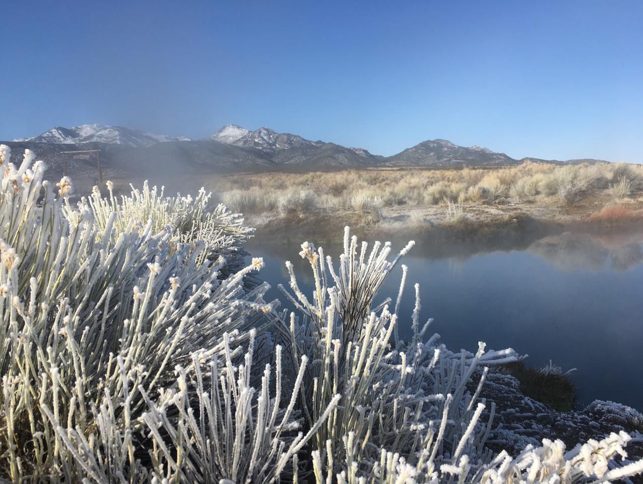Daybreak at Hot Springs Ranch Nevada