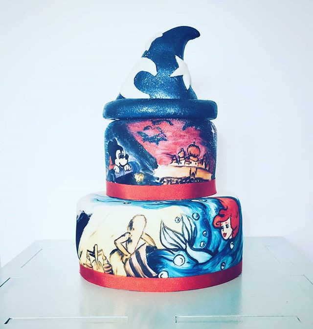 #throwback to this gorgeous painted cake