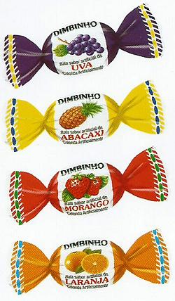 Balas e Caramelos Dimbinho