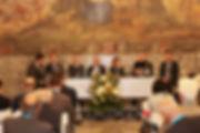 Nella foto, da sinistra, il Vice Presidente della Provincia, Riboldi, il Vice Sindaco di Alessandria, Davide Buzzi Langhi, il Vice Presidente della Regione, Carosso, il Presidente Ance Alessandria, Valvassore, la Presidente Regionale Ance, Malabaila, il Professor Barbieri e l'Ingegnere Bassi.