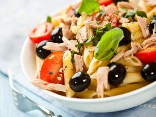Chef Gianluca Deiana Abis:  Insalata Di Pasta Mediterranea/ Mediterranean Pasta Salad