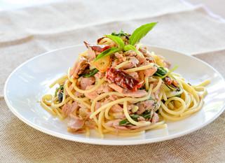 Chef Gianluca Deiana Abis: Spicy Tuna and Lemon Pasta