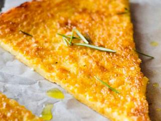 Chef Gianluca Deiana Abis: Farinata di Ceci/ Chickpea flour flatbread