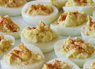 Chef Gianluca Deiana Abis: Uova del diavolo/ Deviled eggs
