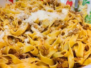 Chef Gianluca Deiana Abis: Authentic Ragù' Alla Bolognese