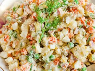 Chef Gianluca Deiana Abis: Insalata Russa - Russian Salad