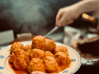 Chef Gianluca Deiana Abis: Polpette di Carne alla Salsa di Pomodoro/ Meatballs with tomato Sauce