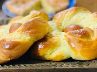 Chef Gianluca Deiana Abis: Pane Di Pasqua/ Italian Easter Bread