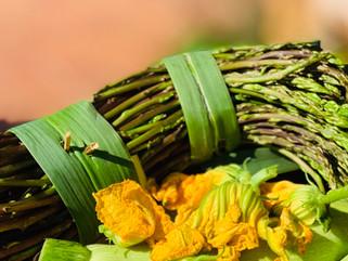 Chef Gianluca Deiana Abis: Frittata con asparagi/ asparagus frittata