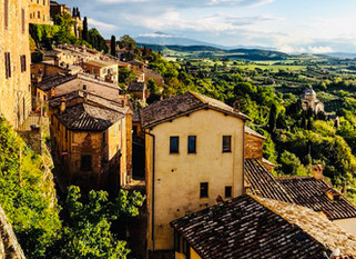Around Italy: Charming Tuscan Hill Town - Montepulciano.