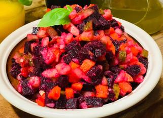 Lyuba Vitelli : Salad Vinaigrette