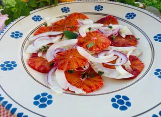 Chef Gianluca Deiana Abis: Insalata di Aranci e Finocchi/ Blood Orange and Fennel Salad