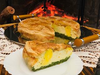 Chef Gianluca Deiana Abis: Torta Pasqualina/ Easter Pie