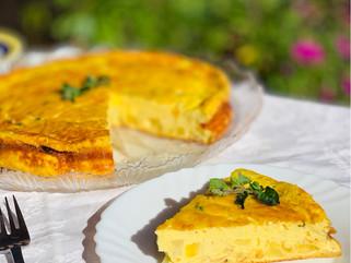 Chef Gianluca Deiana Abis: Frittata Al Forno Di Patate/ Frittata with Potatoes