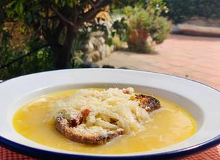 Chef Gianluca Deiana Abis:  Cipollata alla Campagnola/ Italian Onion Soup