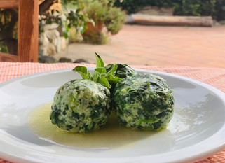 Chef Gianluca Deiana Abis: Gnudi Burro e Salvia/ Gnudi with Butter and Sage