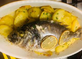 Gianluca Deiana Abis: Orata Al Forno/ Baked Sea Bream with potatoes