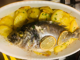 Gianluca Deiana Abis: Orata Al Forno/ Baked Sea Bream with potatoes