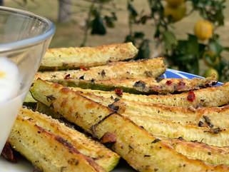 Chef Gianluca Deiana Abis: Zucchine Al Forno/ Baked Zucchini