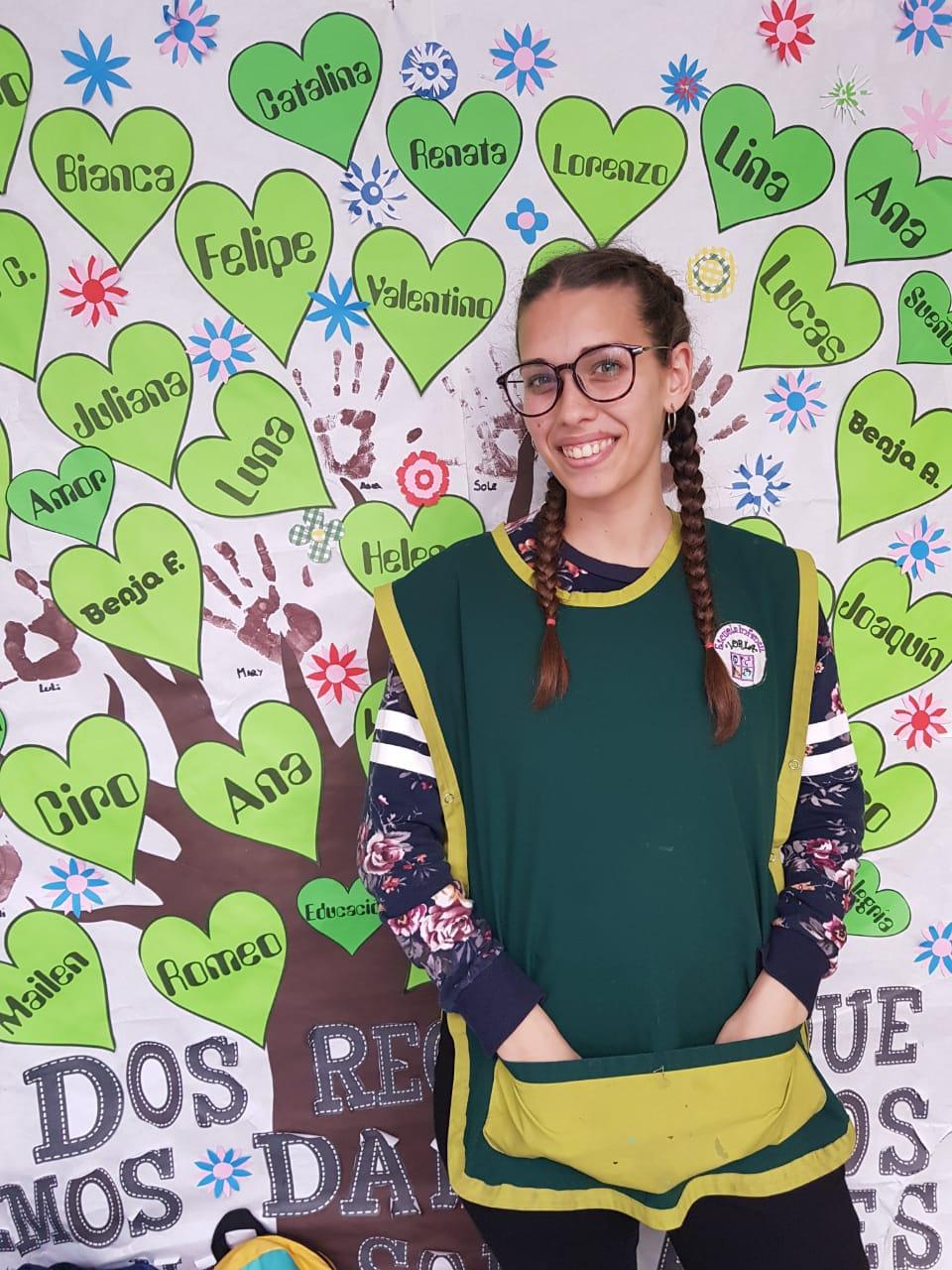 Maestra Jardin Loria Escuela