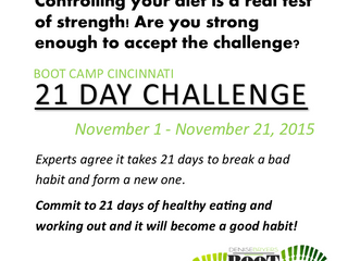 The Boot Camp Cincinnati  21 Day Challenge