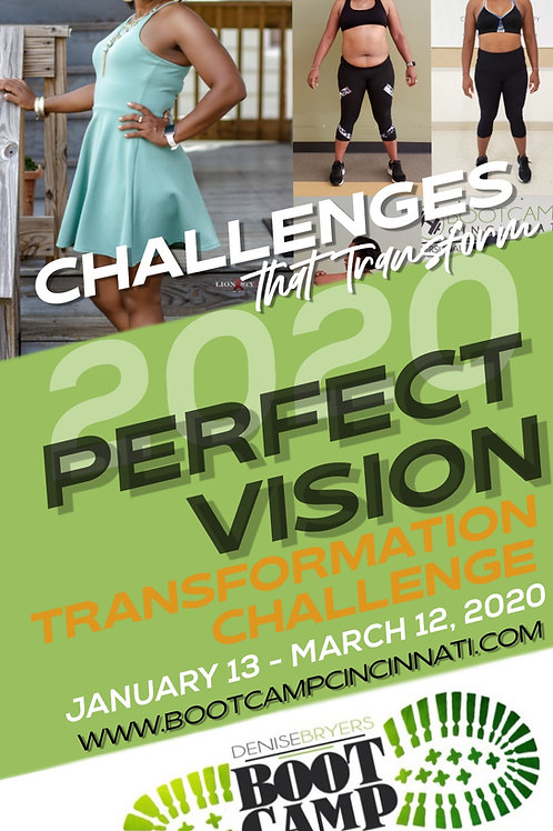 2020 PERFECT VISION CHALLENGE  - REGISTRATION ONLY