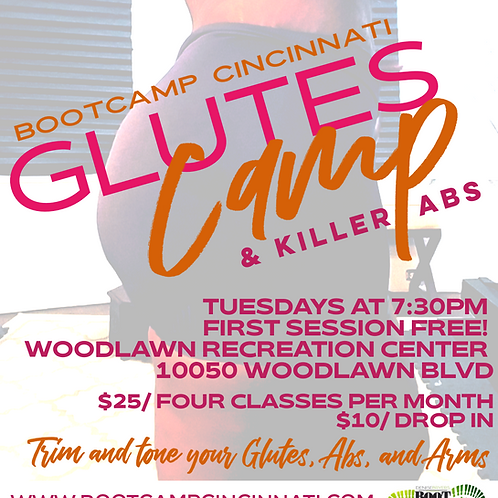 Glutes Camp by Bootcamp Cincinnati