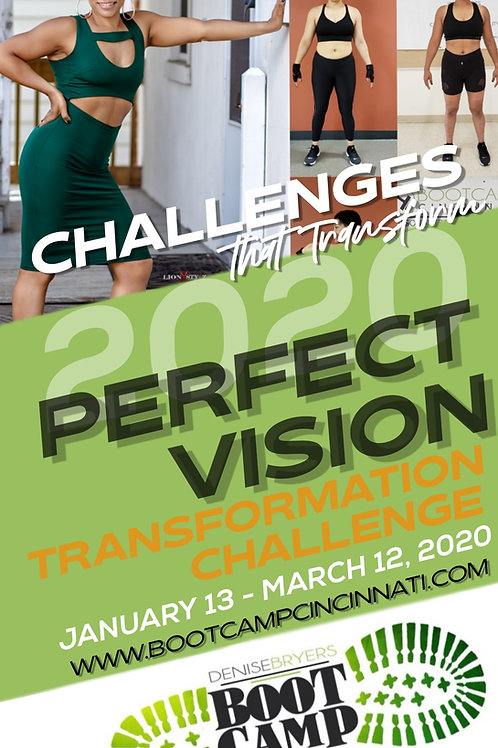 2020 PERFECT VISION CHALLENGE -BACK2BASICS BOOTCAMP