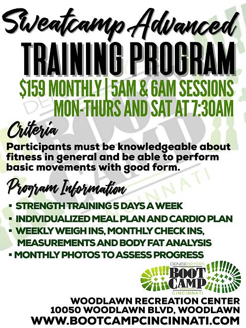 Sweatcamp Advanced Training Program