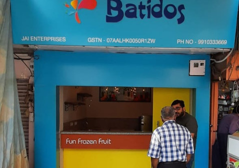 Batidos, Delhi