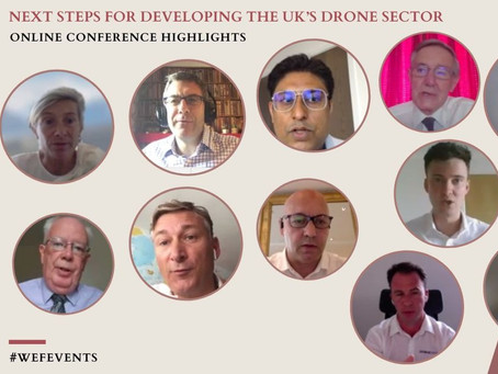 """Westminster eForum: looking forward to contributing to the   next steps for the UK drone sector"""""""