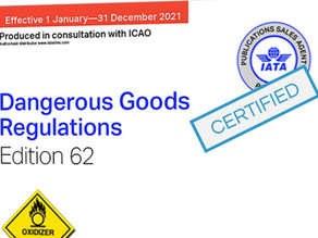 Medical drone delivery: IATA Dangerous Goods Cat 6 training successfully completed.