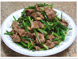 Lee's beef in oyster sauce (serves 4)