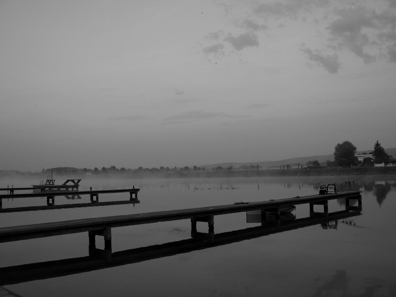 Morgennebel in Frankreich