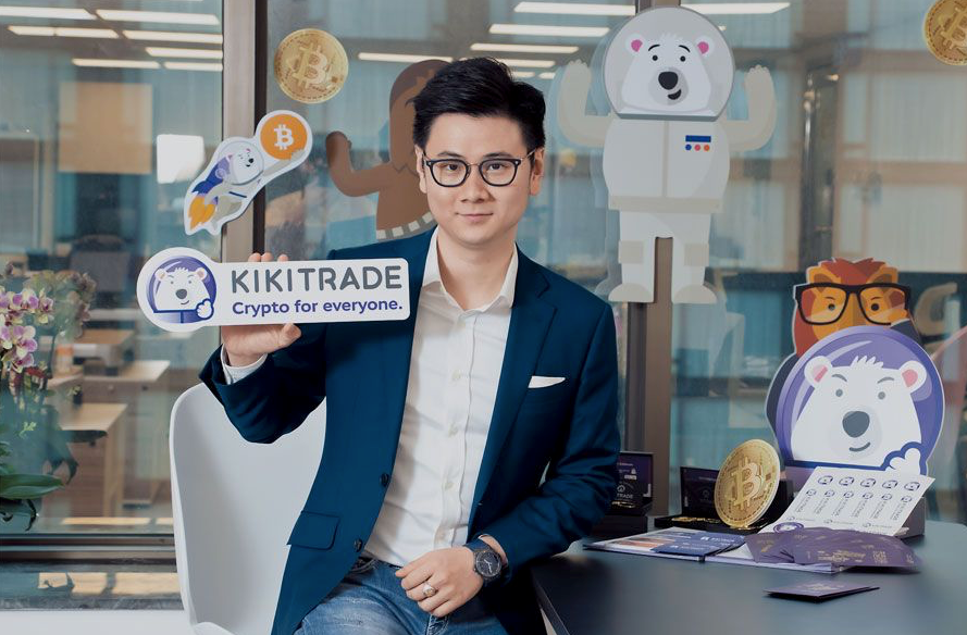 Kikitrade 立足香港和台灣,創辦人 Allen Ng 希望降低加密貨幣投資門檻,令年輕投資者都可參與。